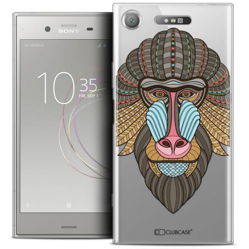 "Coque Crystal Gel Sony Xperia XZ1 (5.2"") Extra Fine Summer - Babouin"