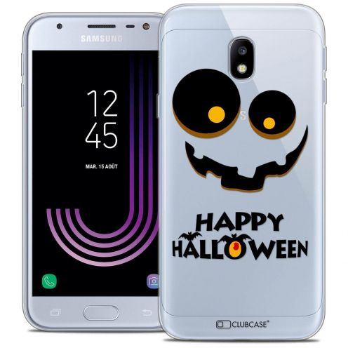 "Coque Crystal Gel Samsung Galaxy J3 2017 J320 (5"") Extra Fine Halloween - Happy"