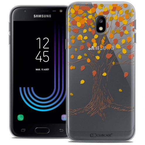 "Coque Crystal Gel Samsung Galaxy J3 2017 J320 (5"") Extra Fine Autumn 16 - Tree"