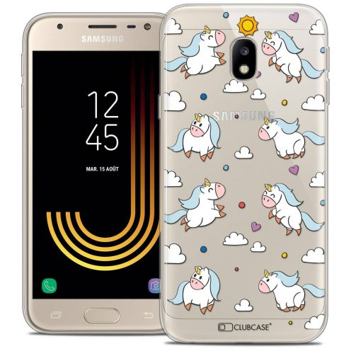 "Coque Crystal Gel Samsung Galaxy J3 2017 J320 (5"") Extra Fine Fantasia - Licorne In the Sky"