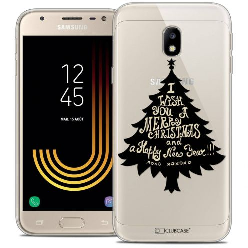 "Coque Crystal Gel Samsung Galaxy J3 2017 J320 (5"") Extra Fine Noël 2017 - XOXO Tree"