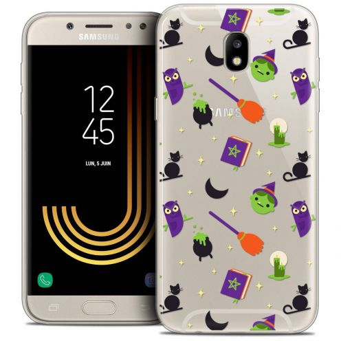 "Coque Crystal Gel Samsung Galaxy J7 2017 J730 (5.5"") Extra Fine Halloween - Witch Potter"