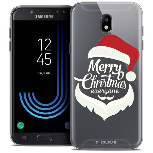 "Coque Crystal Gel Samsung Galaxy J7 2017 J730 (5.5"") Extra Fine Noël 2017 - Merry Everyone"