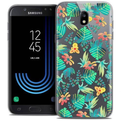 "Coque Crystal Gel Samsung Galaxy J7 2017 J730 (5.5"") Extra Fine Spring - Tropical"