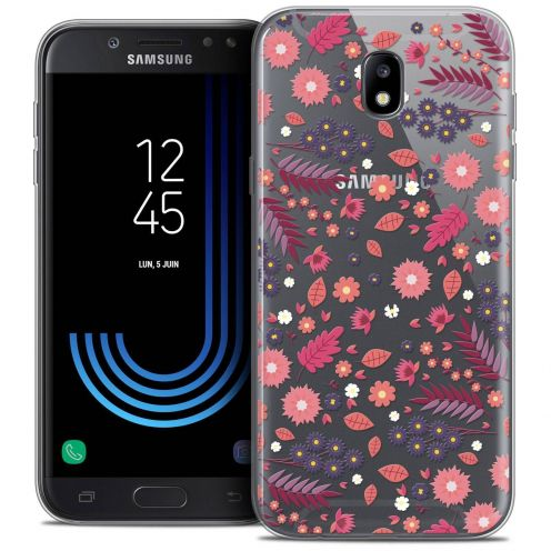 "Coque Crystal Gel Samsung Galaxy J7 2017 J730 (5.5"") Extra Fine Spring - Printemps"