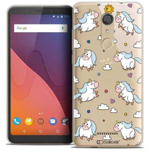 """Coque Crystal Gel Wiko View (5.7"""") Extra Fine Fantasia - Licorne In the Sky"""