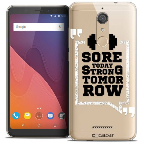 """Coque Crystal Gel Wiko View (5.7"""") Extra Fine Quote - Strong Tomorrow"""