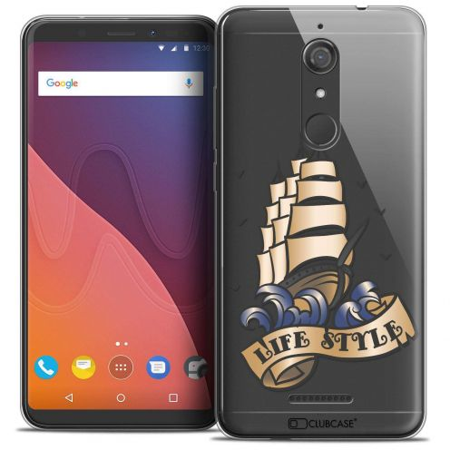 """Coque Crystal Gel Wiko View (5.7"""") Extra Fine Tatoo Lover - Life Style"""