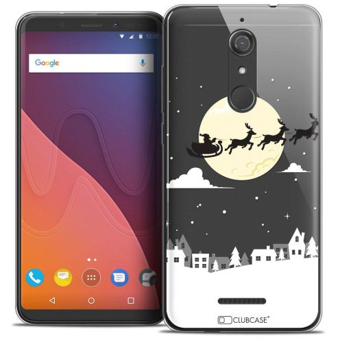 """Coque Crystal Gel Wiko View (5.7"""") Extra Fine Noël 2017 - Flying Stanta"""
