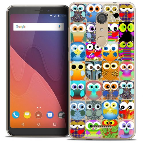 """Coque Crystal Gel Wiko View (5.7"""") Extra Fine Claude - Hibous"""