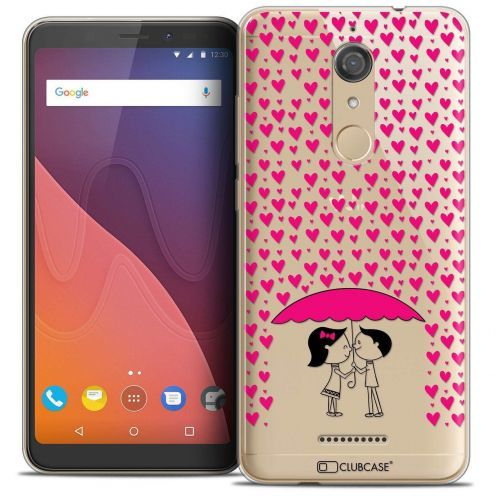 """Coque Crystal Gel Wiko View (5.7"""") Extra Fine Love - Pluie d'Amour"""