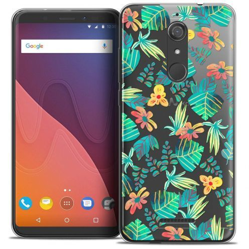 "Coque Crystal Gel Wiko View (5.7"") Extra Fine Spring - Tropical"