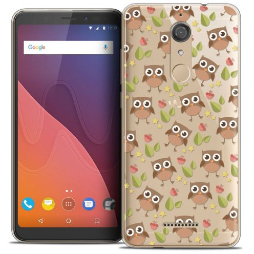 """Coque Crystal Gel Wiko View (5.7"""") Extra Fine Summer - Hibou"""