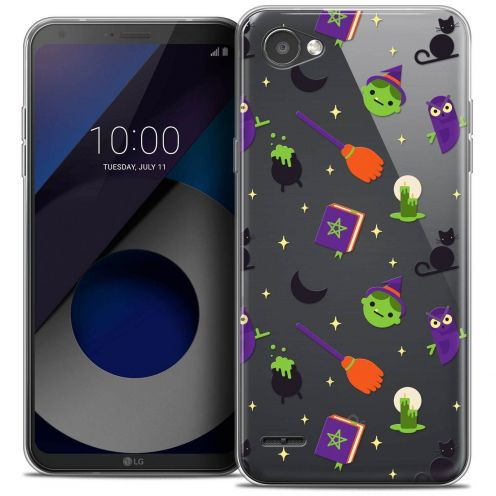 "Coque Crystal Gel LG Q6 (5.5"") Extra Fine Halloween - Witch Potter"