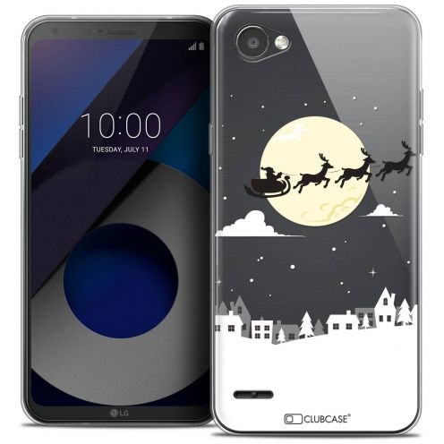 "Coque Crystal Gel LG Q6 (5.5"") Extra Fine Noël 2017 - Flying Stanta"