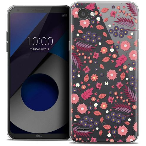 "Coque Crystal Gel LG Q6 (5.5"") Extra Fine Spring - Printemps"