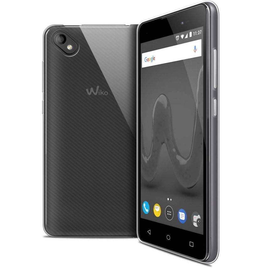 """Coque Wiko Sunny 2 PLUS (5"""") Extra Fine Souple Crystal Clear"""