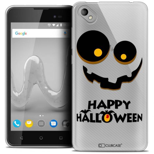 "Coque Crystal Gel Wiko Sunny 2 PLUS (5"") Extra Fine Halloween - Happy"