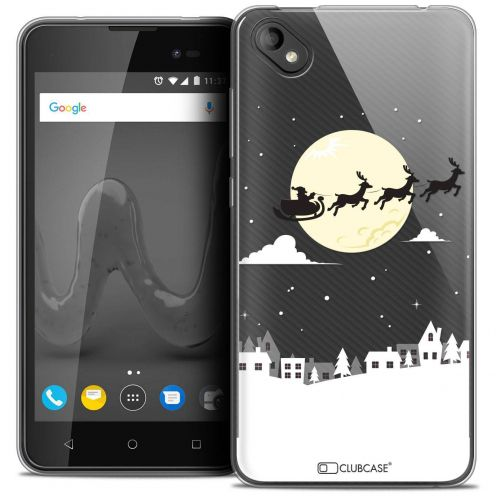 "Coque Crystal Gel Wiko Sunny 2 PLUS (5"") Extra Fine Noël 2017 - Flying Stanta"