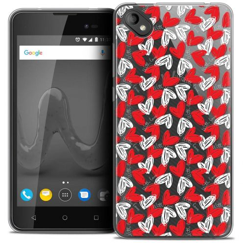 """Coque Crystal Gel Wiko Sunny 2 PLUS (5"""") Extra Fine Love - With Love"""