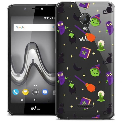 """Coque Crystal Gel Wiko Tommy 2 PLUS (5.5"""") Extra Fine Halloween - Witch Potter"""
