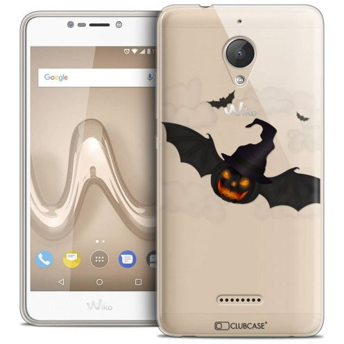 """Coque Crystal Gel Wiko Tommy 2 PLUS (5.5"""") Extra Fine Halloween - Chauve Citrouille"""