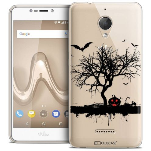 """Coque Crystal Gel Wiko Tommy 2 PLUS (5.5"""") Extra Fine Halloween - Devil's Tree"""