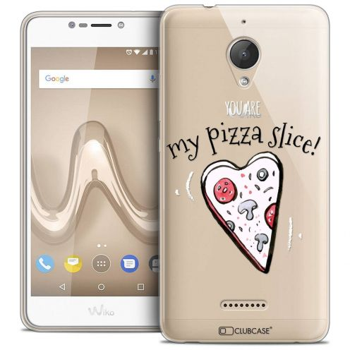 "Coque Crystal Gel Wiko Tommy 2 PLUS (5.5"") Extra Fine Love - My Pizza Slice"