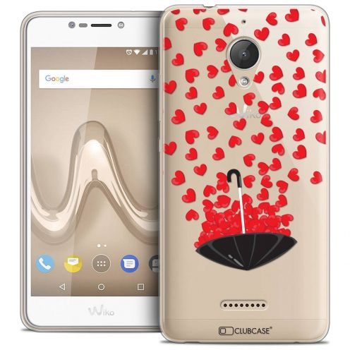 """Coque Crystal Gel Wiko Tommy 2 PLUS (5.5"""") Extra Fine Love - Parapluie d'Amour"""