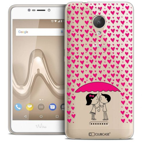"""Coque Crystal Gel Wiko Tommy 2 PLUS (5.5"""") Extra Fine Love - Pluie d'Amour"""