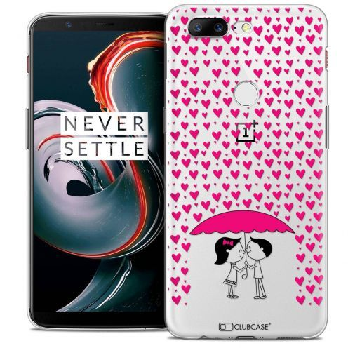 """Coque Crystal Gel OnePlus 5T (6"""") Extra Fine Love - Pluie d'Amour"""