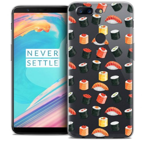 """Coque Crystal Gel OnePlus 5T (6"""") Extra Fine Foodie - Sushi"""