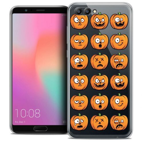 "Coque Crystal Gel Honor View 10 / V10 (6"") Extra Fine Halloween - Cartoon Citrouille"