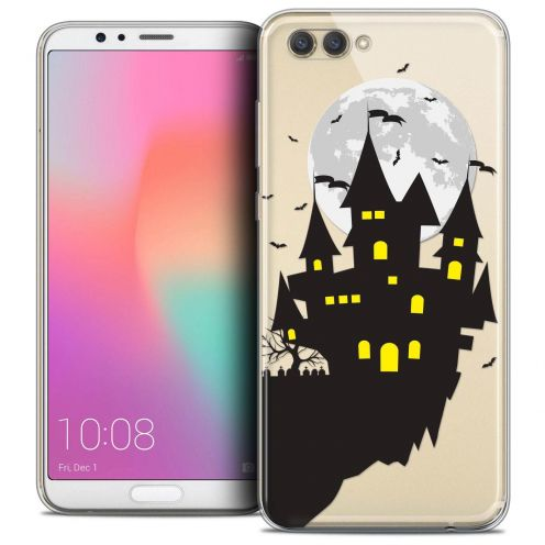 "Coque Crystal Gel Honor View 10 / V10 (6"") Extra Fine Halloween - Castle Dream"