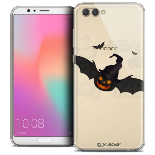 "Coque Crystal Gel Honor View 10 / V10 (6"") Extra Fine Halloween - Chauve Citrouille"