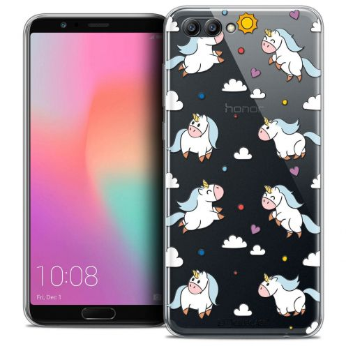 "Coque Crystal Gel Honor View 10 / V10 (6"") Extra Fine Fantasia - Licorne In the Sky"