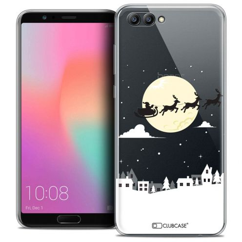 "Coque Crystal Gel Honor View 10 / V10 (6"") Extra Fine Noël 2017 - Flying Stanta"