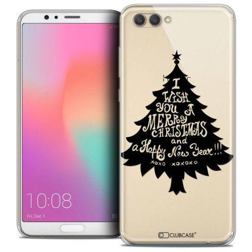 "Coque Crystal Gel Honor View 10 / V10 (6"") Extra Fine Noël 2017 - XOXO Tree"