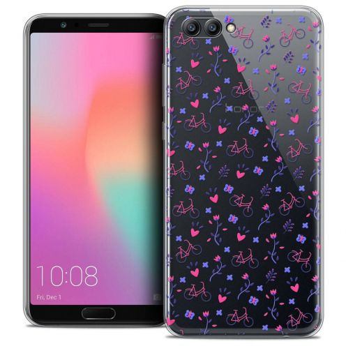 "Coque Crystal Gel Honor View 10 / V10 (6"") Extra Fine Love - Bicycle"