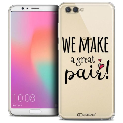 "Coque Crystal Gel Honor View 10 / V10 (6"") Extra Fine Love - We Make Great Pair"