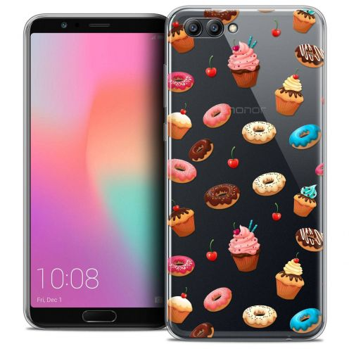 "Coque Crystal Gel Honor View 10 / V10 (6"") Extra Fine Foodie - Donuts"