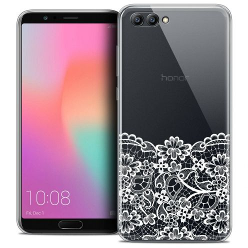 "Coque Crystal Gel Honor View 10 / V10 (6"") Extra Fine Spring - Bas dentelle"