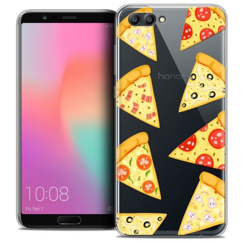 "Coque Crystal Gel Honor View 10 / V10 (6"") Extra Fine Foodie - Pizza"
