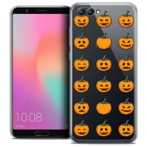 "Coque Crystal Gel Honor View 10 / V10 (6"") Extra Fine Halloween - Smiley Citrouille"