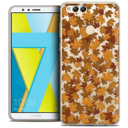 """Coque Crystal Gel Honor 7X (5.9"""") Extra Fine Autumn 16 - Feuilles"""