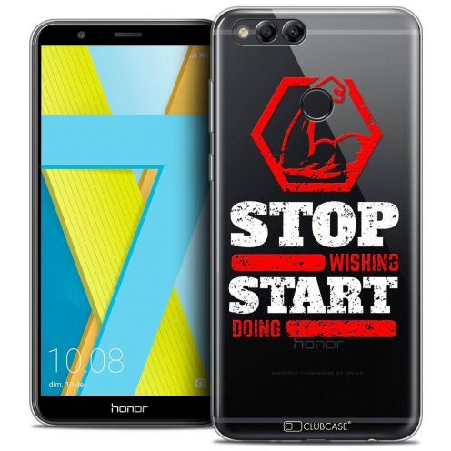 """Coque Crystal Gel Honor 7X (5.9"""") Extra Fine Quote - Start Doing"""