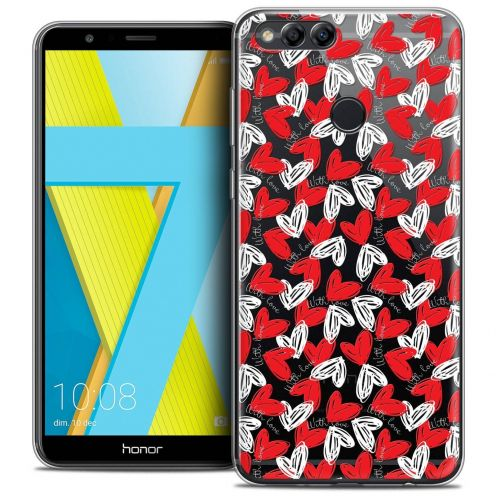 "Coque Crystal Gel Honor 7X (5.9"") Extra Fine Love - With Love"