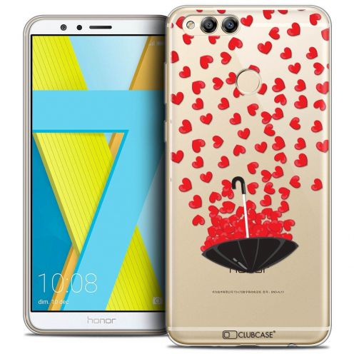 "Coque Crystal Gel Honor 7X (5.9"") Extra Fine Love - Parapluie d'Amour"