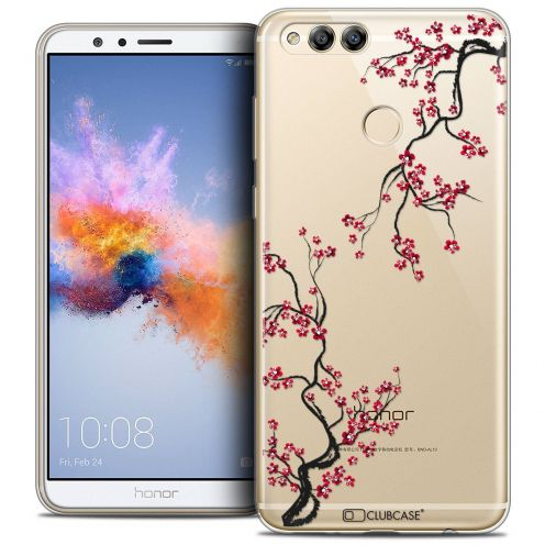 "Coque Crystal Gel Honor 7X (5.9"") Extra Fine Summer - Sakura"