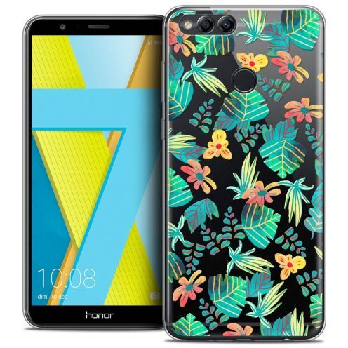 "Coque Crystal Gel Honor 7X (5.9"") Extra Fine Spring - Tropical"